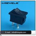 Black 12V ON-OFF 2 Position KCD Mini