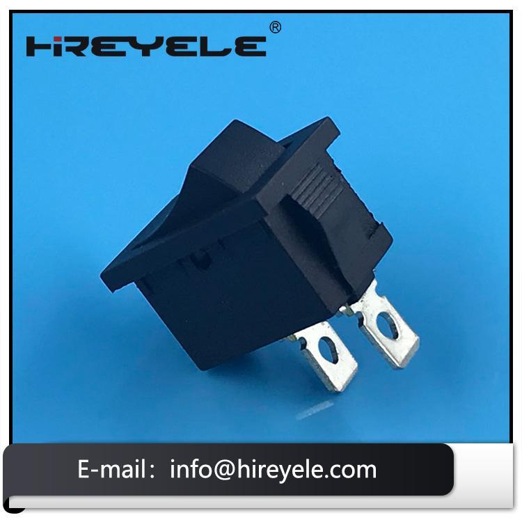 Black 12V ON-OFF 2 Position KCD Mini Rocker Switch 2