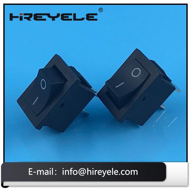 Black 12V ON-OFF 2 Position KCD Mini Rocker Switch 4