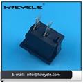Black 12V ON-OFF 2 Position KCD Mini Rocker Switch 3