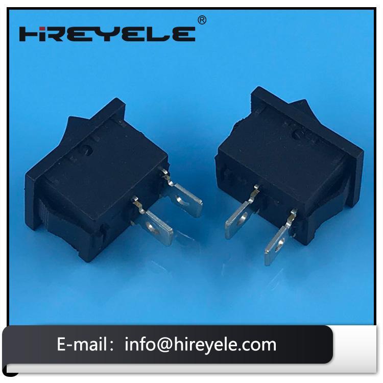 Black 12V ON-OFF 2 Position KCD Mini Rocker Switch 5