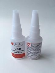 美泰902透明不发白硅胶粘塑料胶水