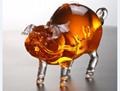动物造型玻璃工艺酒瓶