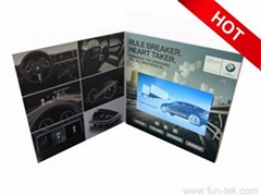 5'' HD Video Brochure for Brand Marketing