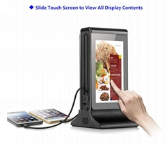 """7"""" LCD Android WiFi Table Advertising Display Player"""