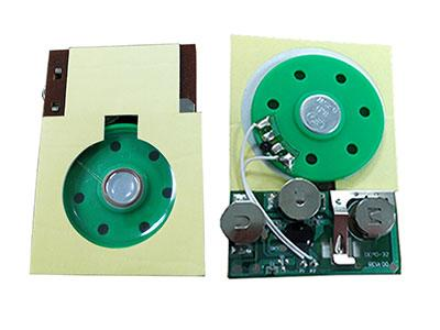 Pre-recording Sound Module for Greeting Cards with a SLIDER switch 5
