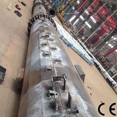 Bestower Hot-DIP-Galvanized Outdoor Lamp Post Steel Poles