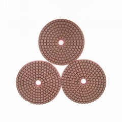 100 mm wet resin concrete pads for granite or marble