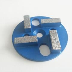 4 Bar segments diamond concrete tools for grinding