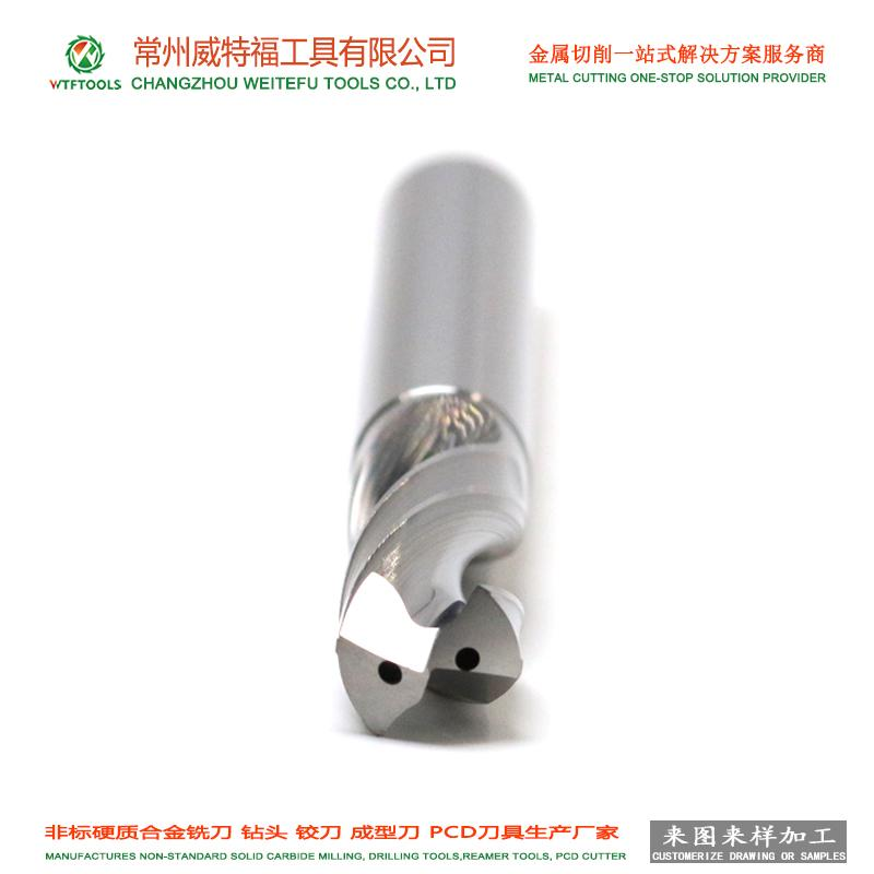 WTFTOOLS tungsten carbide drill bit with inner coolant hole for hardened steel 1