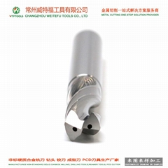 WTFTOOLS tungsten carbide drill bit with inner coolant hole for hardened steel