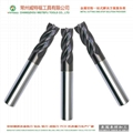 high performance HRC55 4 flutes tungsten carbide end milling cutter tools 5