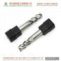 HRC50 3 flutes flat bottom tungsten