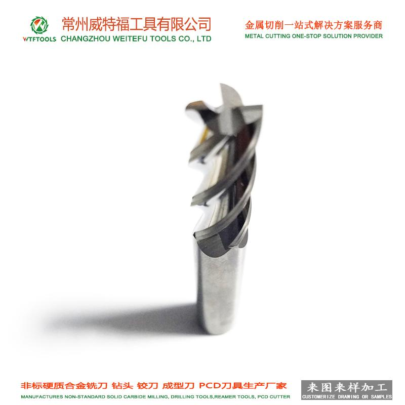 wtftools customized tungsten carbide composite chamfering forming end mill 5