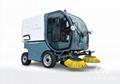 电动环卫扫路洗地车DFH-EW