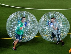 Tpu Inflatable Human Body Adult Bumper Bubble Ball