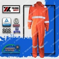 Wholesale cotton frc fluorescent workwear safety coverall 2
