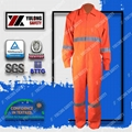 Wholesale cotton frc fluorescent workwear safety coverall 4