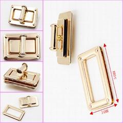 Latest Style Own Design Metal Handbag Decorative Lock for Bag Accessories