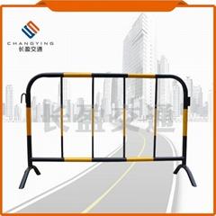 市政黄黑铁马护栏