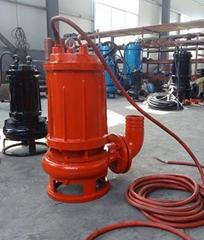 山东鲁达高温耐磨污水泵