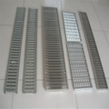 polymer drainage channel with ga  anised,ductile iron and stainless steel grates