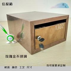 寫字樓高檔小區信報箱專業設計定製德藝