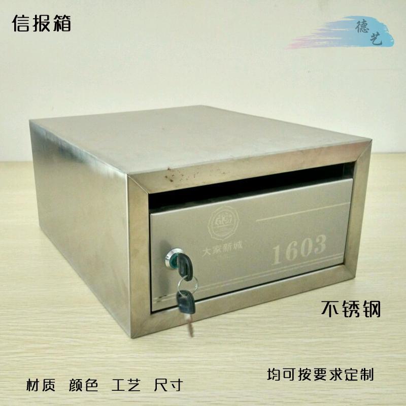 寫字樓高檔小區信報箱專業設計定製德藝 3