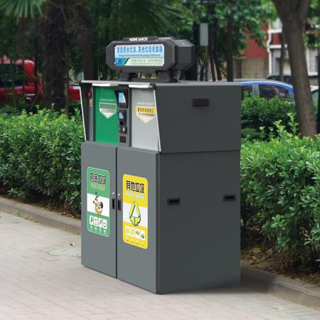 戶外垃圾箱專業設計定製德藝 1