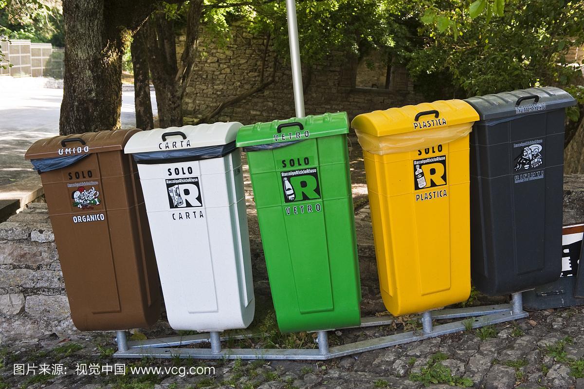 戶外垃圾箱專業設計定製德藝 3
