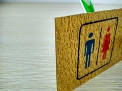 洗手间标牌专业设计定制
