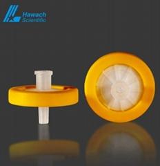 Disposable Hydrophobic PTFE Syringe Filters