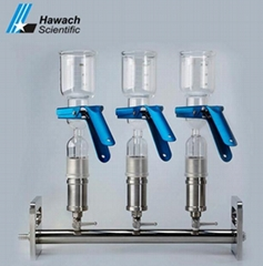 Glass Three-Branches Vacuum Filtrations