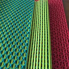 PVC六角形镂空防滑地垫生产线