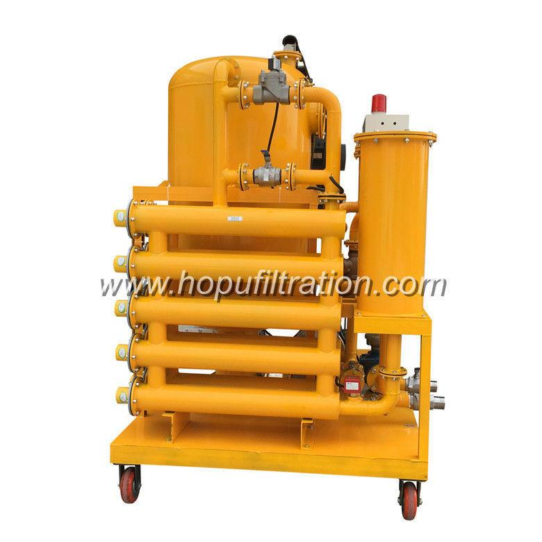 ZYD Double stage vacuum transformer oil purifier,insulation oil recycling plant 1