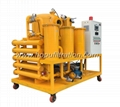 ZYD Double stage vacuum transformer oil purifier,insulation oil recycling plant 2