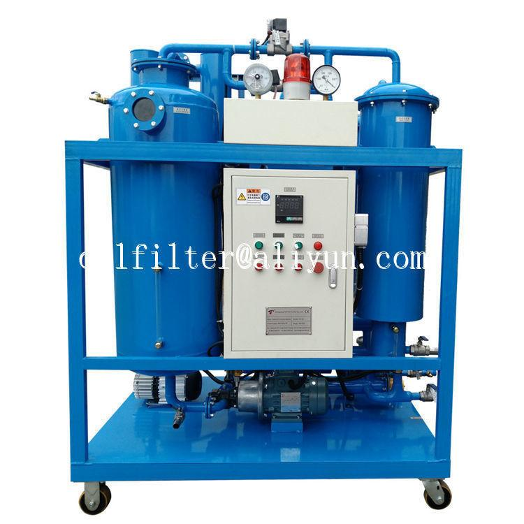 used turbine oil filtration machine which breaking emulsification and degassing 1