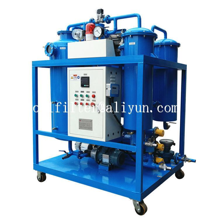 used turbine oil filtration machine which breaking emulsification and degassing 3