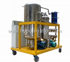 Stainless Steel Black Vegetable Oil Recycling System