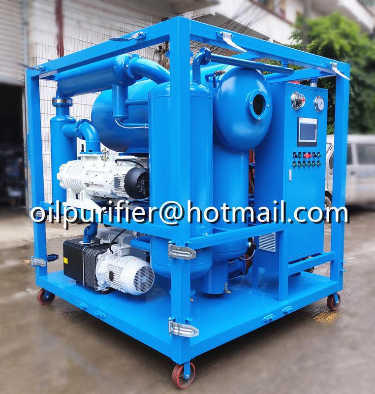 double stage vacuum cable oil filtration machine,insulating oil processing plant 1
