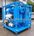 double stage vacuum cable oil filtration