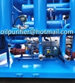 double stage vacuum cable oil filtration machine,insulating oil processing plant 2