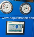 double stage vacuum cable oil filtration machine,insulating oil processing plant 4
