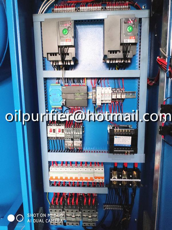 double stage vacuum cable oil filtration machine,insulating oil processing plant 5