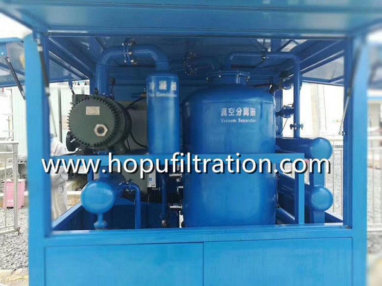 Dirty Transformer Oil Reclamation Equipment 1