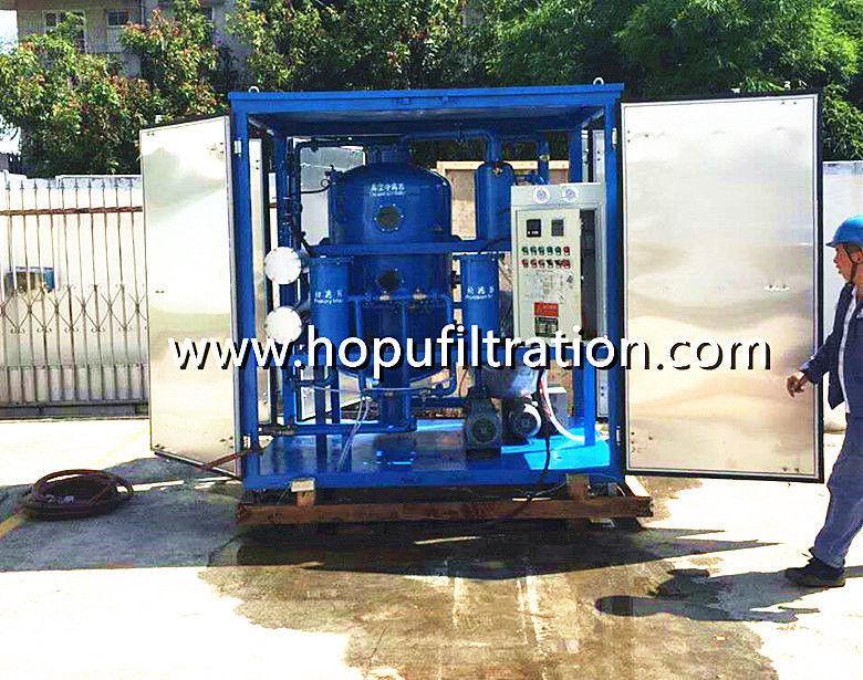 Dirty Transformer Oil Reclamation Equipment 2