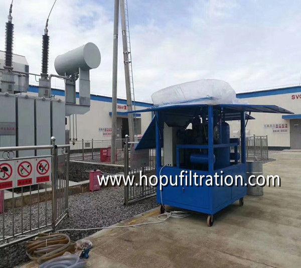 Dirty Transformer Oil Reclamation Equipment 4