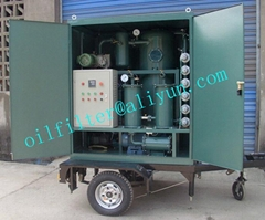 Transformer Oil Filtration Plant With Mobile Trailer And Fully-Covers