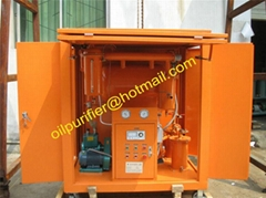 portable transformer oil purifier/used insulating oil purify system