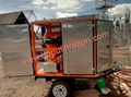 portable transformer oil purifier/used insulating oil purify system 3